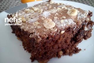 Kakaolu Fındıklı Islak Kek Tarifi