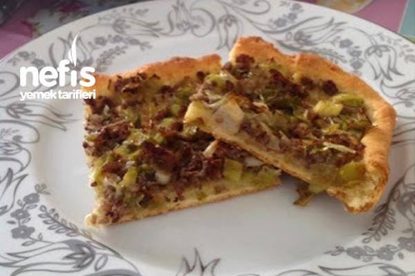Kıymalı Pizza (Kiş) Tarifi