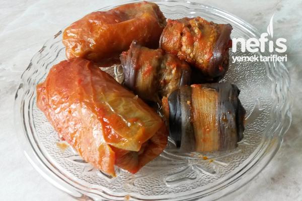 Kuru Patlıcan Sarması