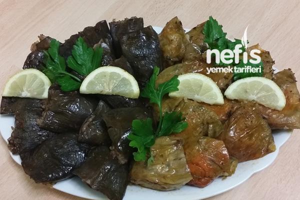Nar Ekşili Kuru Biber ve Patlıcan Dolması Tarifi