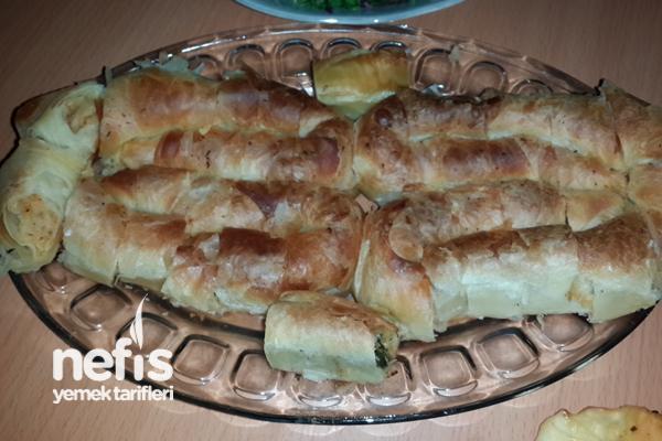Patatesli ve Ispanaklı Kol Böreği Tarifi
