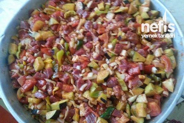 Patlıcanlı İçme Tavası (Elbistan Tava) 2