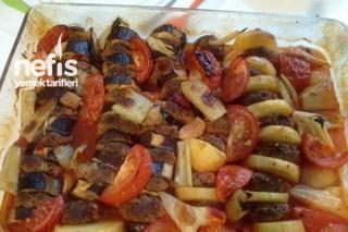 Patlıcanlı ve Patatesli Köfte Kebabı Tarifi