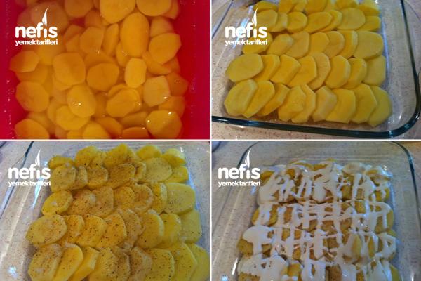 Süper Sarımsaklı Kremalı Patates 2