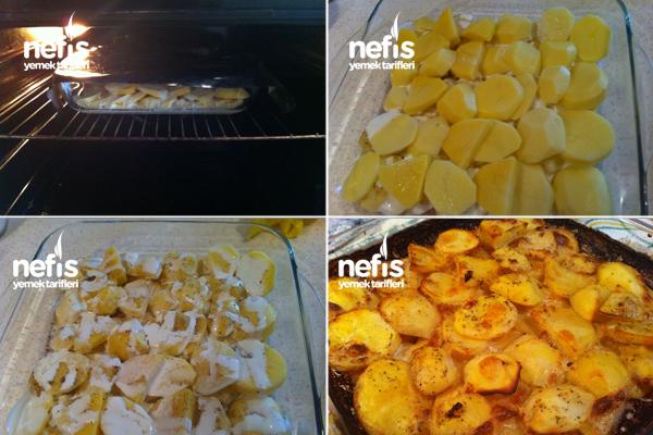 Süper Sarımsaklı Kremalı Patates 3