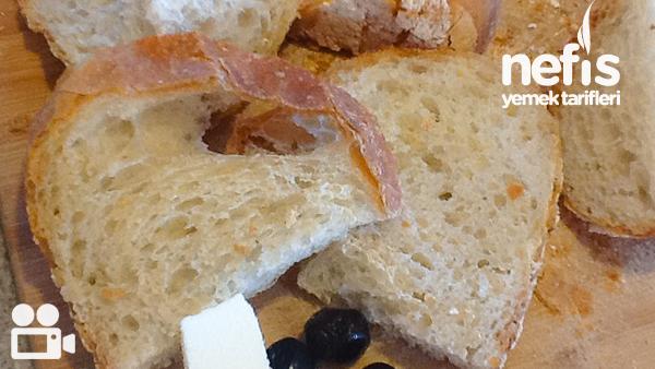 Evde Hamur Yoğurmadan Ekmek Yapımı Tarifi