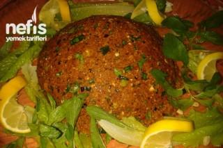 Yumurtalı Köfte Tarifi (Çiğ Köfte)
