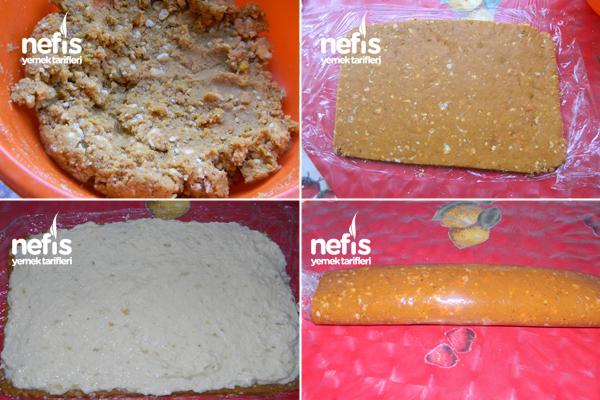 Balkabaklı Rulo Pasta 2