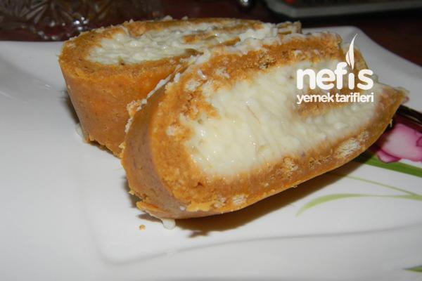 Balkabaklı Rulo Pasta Tarifi