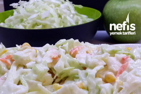 Beyaz Lahana Salatası 1