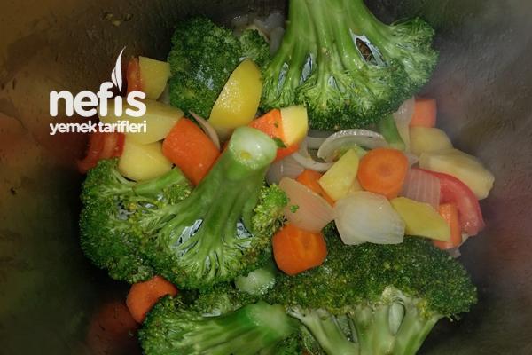 Brokoli Çorbası (Sebze Çorbası) 2