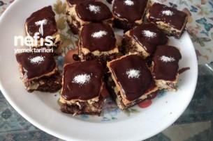 Çikolatalı Desenli Kek Tarifi