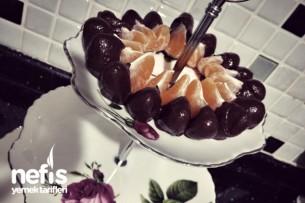 Çikolatalı Mandalinalar :) Tarifi