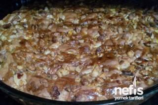 Enfes Kek (Elmalı İncirli Cevizli Kek) Tarifi