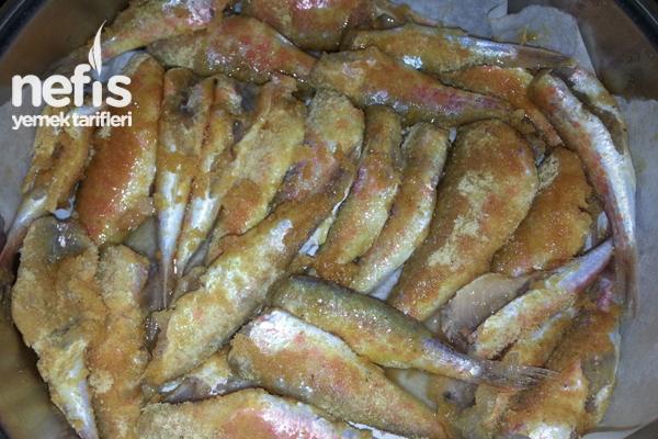 Fırında Barbun Balığı Tarifi