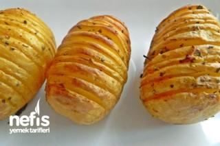 Fırında Dilimlenmiş Patates Tarifi