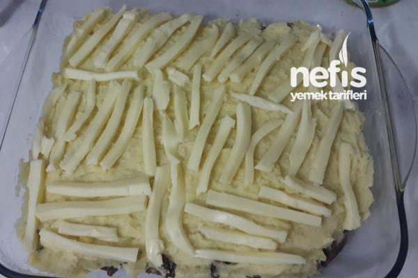 Fırında Patates Püreli Kaşarlı Et 3
