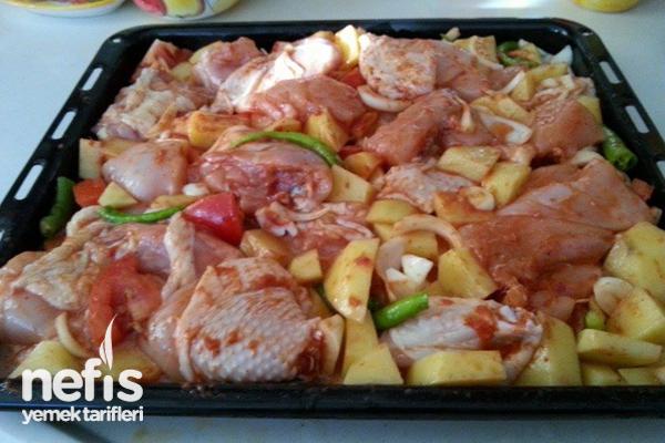 Fırında Tavuklu Patates Nasıl Yapılır? 3