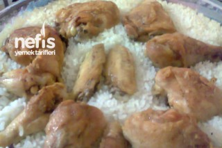 Fırında Tavuklu Pilav Tarifi