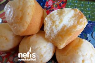 Glutensiz Peynirli Muffin (Tuzlu Muffin) Tarifi