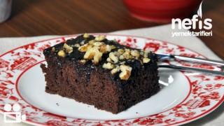 Browni Tadında Islak Kek Tarifi (videolu)
