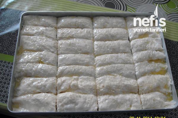 Ispanaklı Börek (Baklavalık Yufkadan) 3