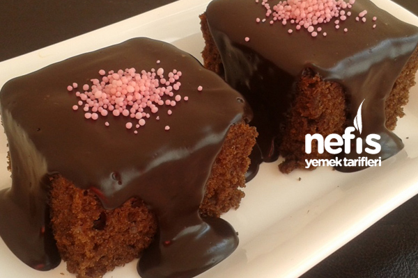 Kahveli Çikolatalı Kek 6