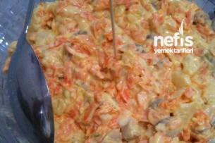 Karnabaharlı Havuç Salatası Tarifi