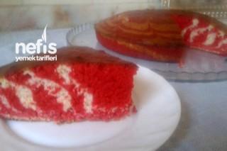 Kırmızı Zebra Kek Tarifi