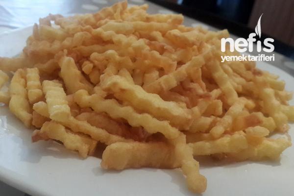 Kıtır Kıtır Patates Kızartma Tarifi