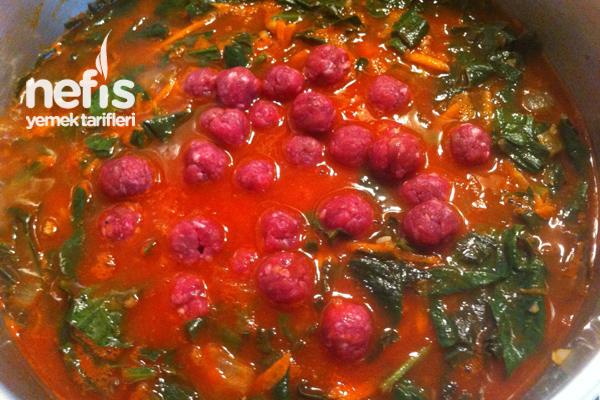 Kıymalı Ispanak Yemeği 3