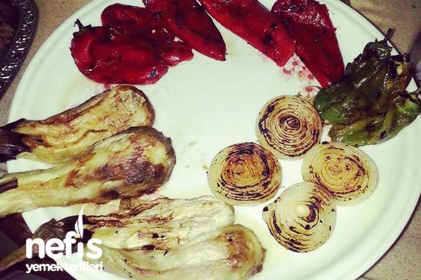 Közlenmiş Patlıcan Salatası 2