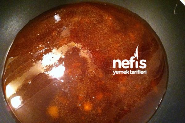 Krem Karamelli Kek Yapılışı 6