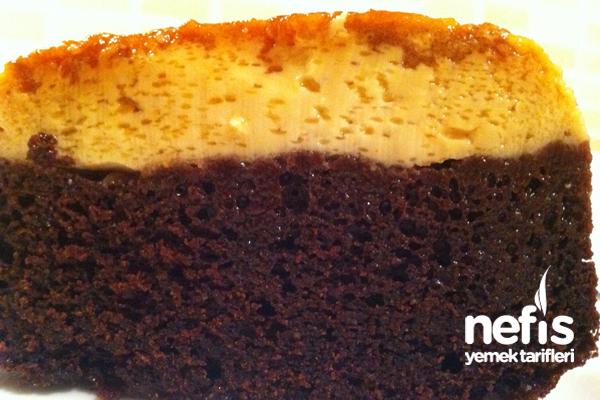 Krem Karamelli Kek Yapılışı 8