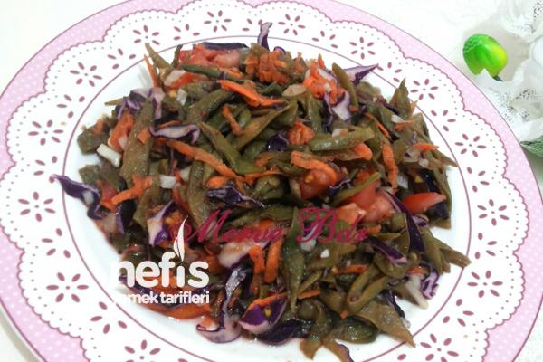 Kurutulmuş Fasulye Salatası Tarifi