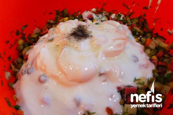 Makarna Salatası Nasıl Yapılır? 7