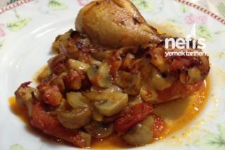 Mantarlı Tavuk Baget Tarifi
