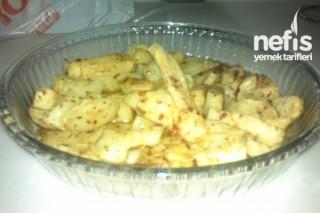 Mikrodalgada Patates Tarifi
