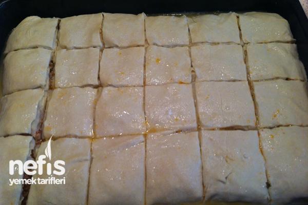 Milföylü Yufkalı Börek Yapımı 8