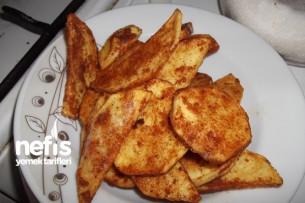 Pane Harçlı Çıtır Patates Tarifi