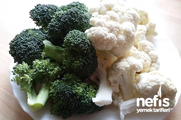 Paneli Karnabahar Ve Brokoli 2