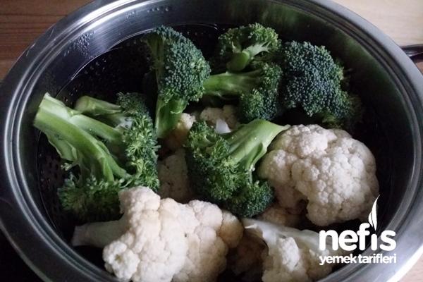 Paneli Karnabahar Ve Brokoli 3