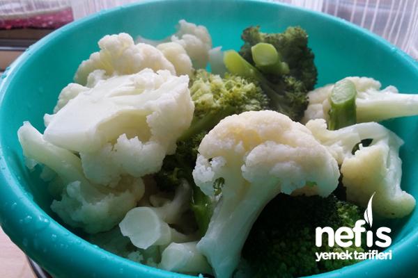 Paneli Karnabahar Ve Brokoli 4