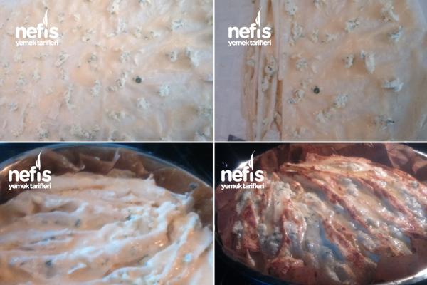 Peynirli Pileli Börek 2