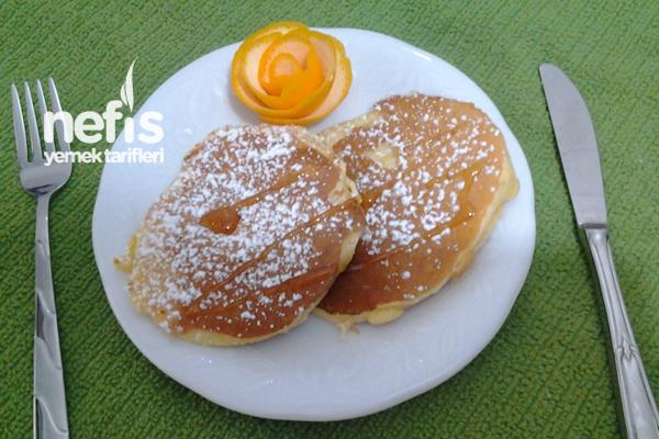 Portakallı Pankek Tarifi