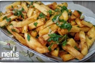 Sarımsak Soslu Patates Kızartması Tarifi
