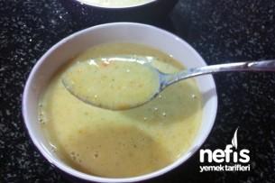 Sütlü Sebze Çorbası Tarifi