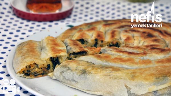 Tavada Ispanaklı Kol Böreği Nasıl Yapılır?