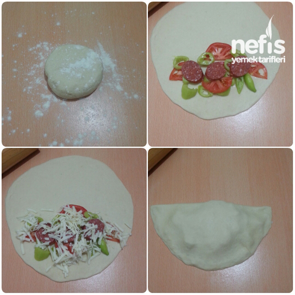 Tavada Kapalı Pizza 2