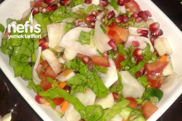 Yer Elması Salatası